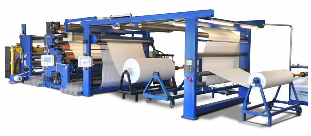 Beschichtung und Kaschierung textiler Materialien