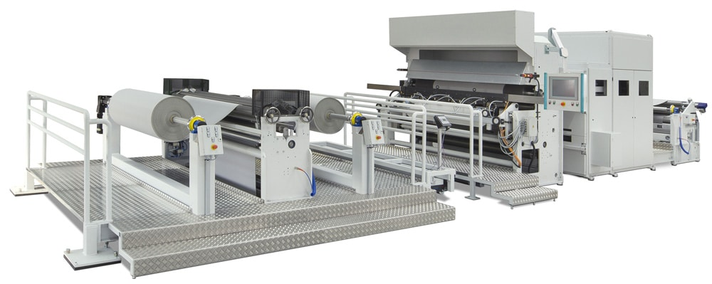 Zweite SM-Coating-Maschine