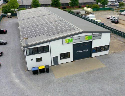 Photovoltaik für klimaneutrale Ökostromproduktion